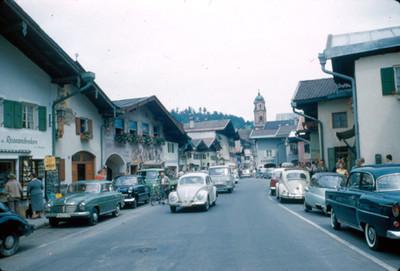 Vista de calles en Hinterstein
