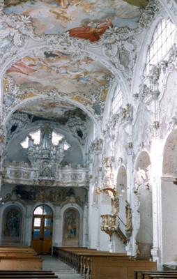 Vista del interior de la Iglesia de