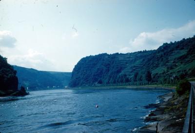 Vista de la roca