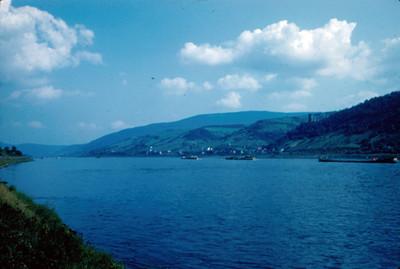 Panoramica del rio Rin