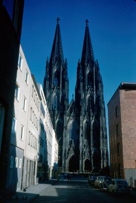 Vista de la Catedral de Colonia