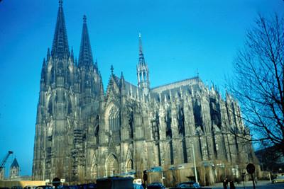 Parte posterior de la Catedral de Colonia