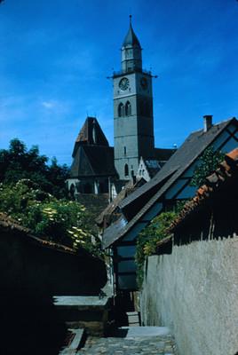 Torre de una iglesia en