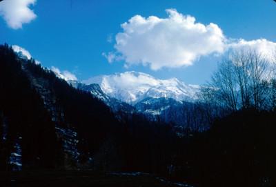 Mont-Blanc, panorama