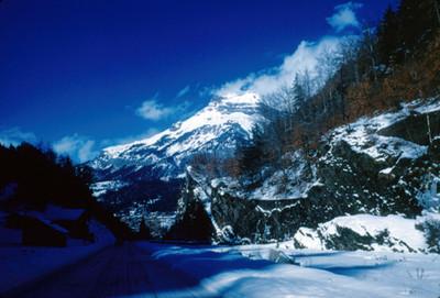 Villa al pie de Mont-Blanc, panorama