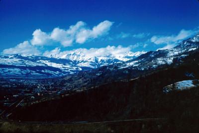 Valle de Chamonix y Mont-Blanc, panorámica