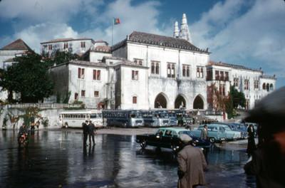 Vista del Palacio Nacional de