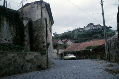 Vista de calle en Oporto