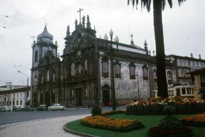 Vista de la Catedral de Oporto
