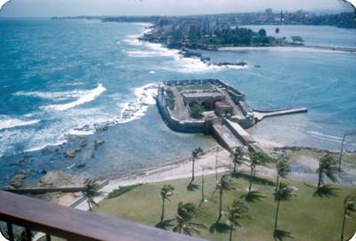 Fuerte y ciudad de San Juan, panorámica, vista parcial