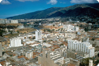 Centro de Caracas, panorámica