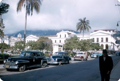 Plaza publica de la ciudad de