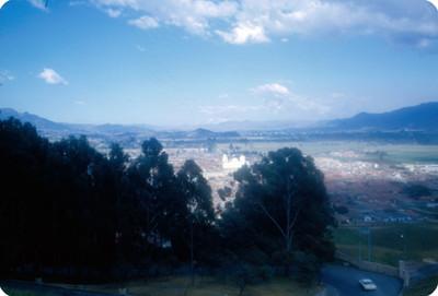 Panoramica de la ciudad de Medellin