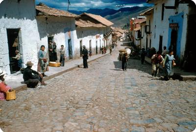 Calle de Cuzco y vida cotidiana de sus habitantes