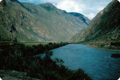 Rio Urubamba, Cuzco, panorámica de la zona del mismo nombre