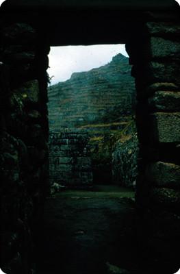 Entrada a las ruinas en