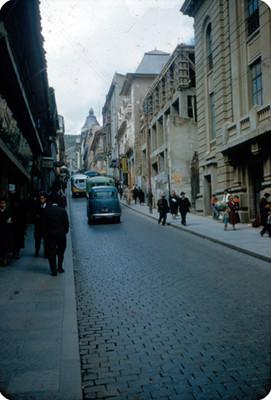 Vida cotidiana en una calle