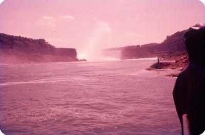 Cataratas y rio Niagara, paisaje