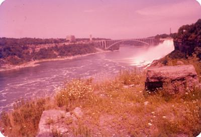 Rio y cataratas del Niagara, paisajes
