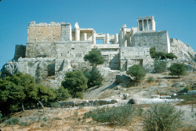 Templo de Erecteion en la
