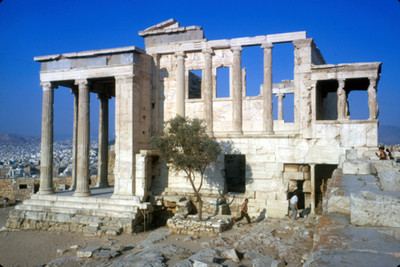Templo de Erecteion, exterior