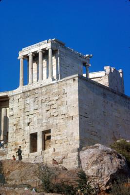 Templo de Erecteion, exterior, detalle