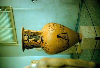 Anfora de Eleusis, detalle