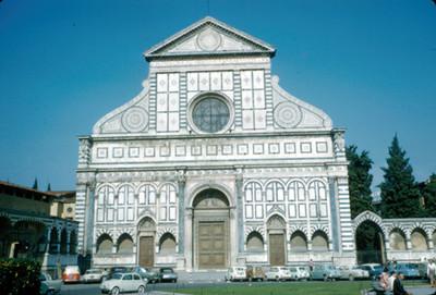 Fachada de la Iglesia de Santa Maria Novello