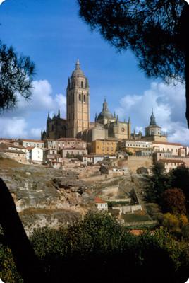 Catedral y vista de la ciudad de