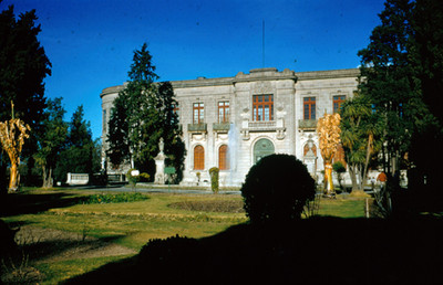 Jardin del Alcazar de Chapultepec, vista general