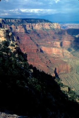 El Gran Cañon, paisaje