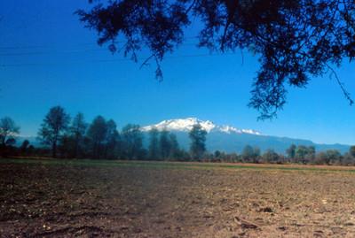 Volcan Iztaccihuatl, panorámica