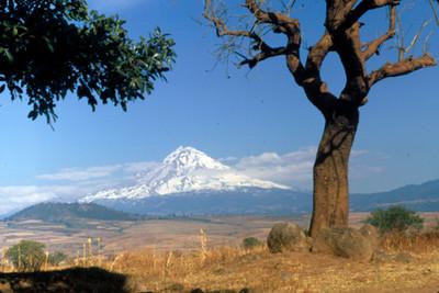 Popocatepetl, panorama