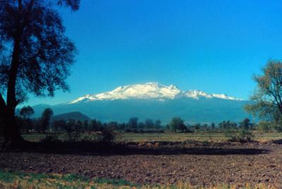 Iztaccihuatl, panorama
