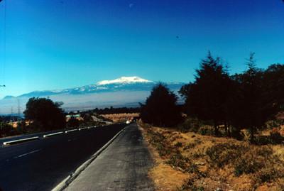 Nevado de Toluca visto desde carretera