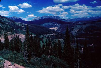 Zona montañosa de