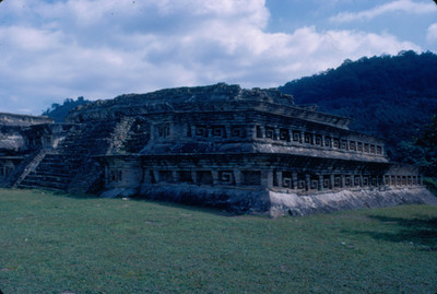 Edificio C, vista anterior, Tajin Chico