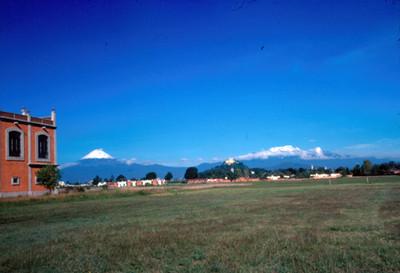 Popocatepetl e Iztlaccihuatl, panorámica