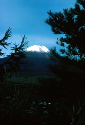 Monte Fuji, paisaje
