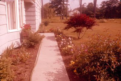 Corredor del jardin de una casa