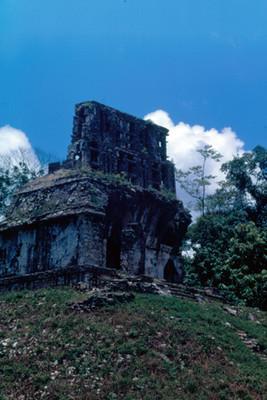 Templo del Sol, exterior, vista paricial