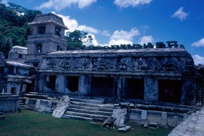 Edificio de El Palacio, exterior, vista parcial