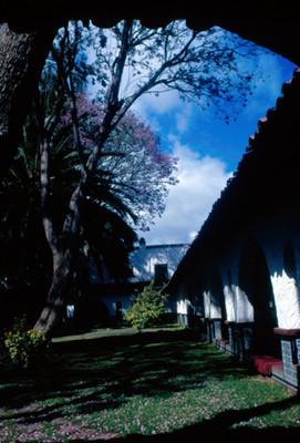 Jardines del hotel Peñafiel