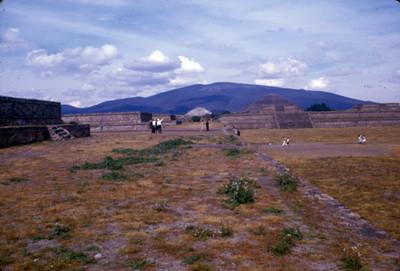Teotihuacan, panorámica de la Ciudadela