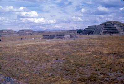 La Ciudadela en Teotihuacan, panorámica