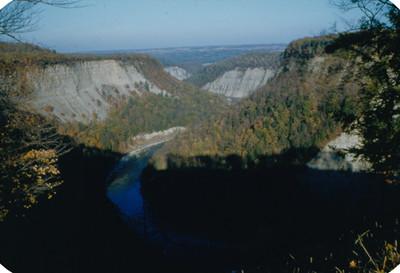 Vista de rio, panorámica