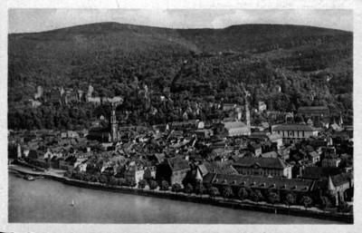 Vista panorámica de Heidelberg,