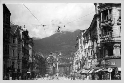 Vista urbana de un lugar de Francia, tarjeta postal