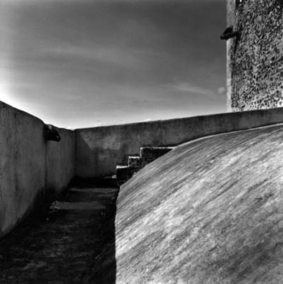 """""""Gárgolas"""", vista parcial de la bóveda"""