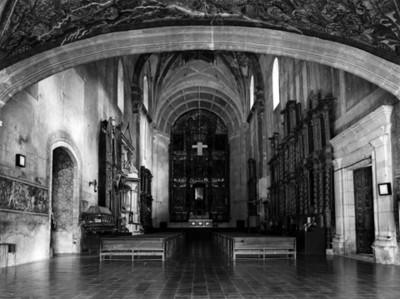 Iglesia del ex-convento de Metztitlán, interior